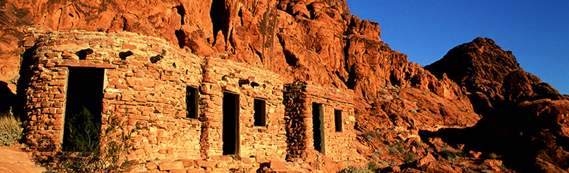 Cabins of Valley of Fire State Park