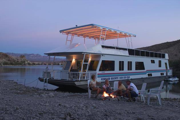 Lake Mead Houseboating