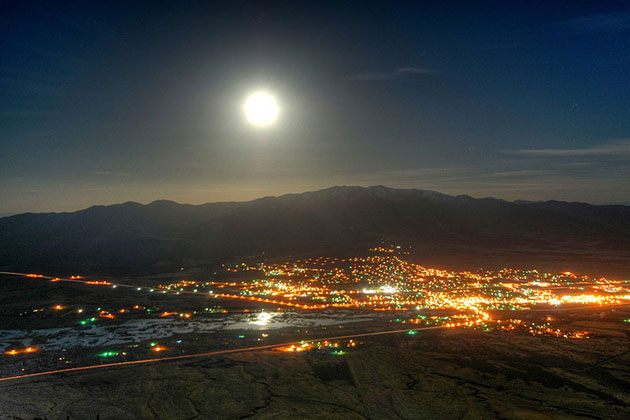 Moon Over Winnemucca