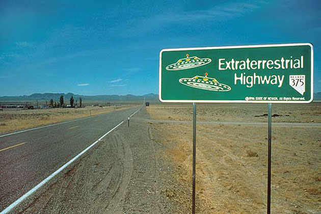 ET Highway sign near Rachael